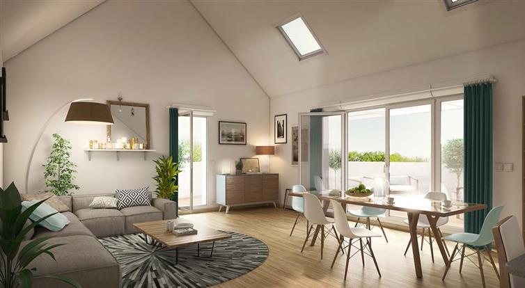 vente appartement st herblain vefa du t2 au t5 nord loire transactions. Black Bedroom Furniture Sets. Home Design Ideas