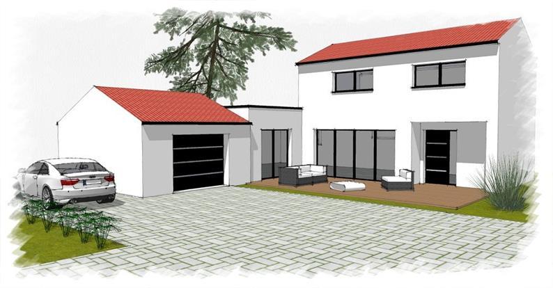 Vente maison mauves sur loire joli projet de for Vente maison en construction