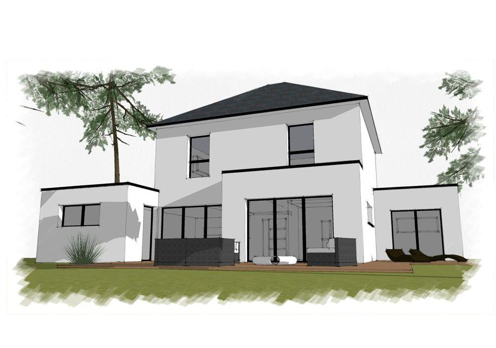 vente maison sautron joli projet de construction nord. Black Bedroom Furniture Sets. Home Design Ideas